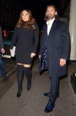 TAMARA ECCLESTONE and Jay Rutland at Arts Club in London 01/28/2019
