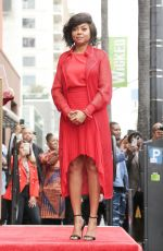 TARAJI P. HENSON and MARY J. BLIGE Honored with a Star on Hollywood Walk of Fame 01/28/2019