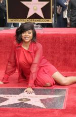 TARAJI P. HENSON Honored with a Star on Hollywood Walk of Fame 01/28/2019