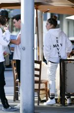 THYLANE BLONDEAU Out in Los Angeles 01/26/2019