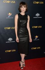 TILDA COBHAM-HERVEY at G'day USA Los Angeles Gala in Culver City 01/26/2019