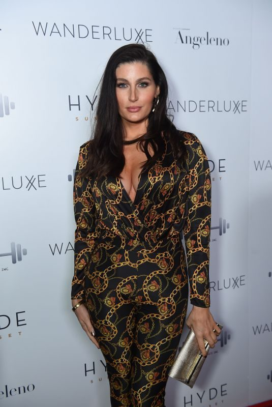 TRACE LYSETTE at Toast to the Globes Party at Hyde Sunset Kitchen 01/05/2019