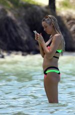 UNA HEALY in Bikini at a Beach in Mauritius 01/21/2019