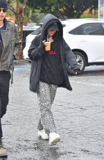 VANESSA HUDGENS Leaves a Coffee Shop in Los Angeles 01/12/2019