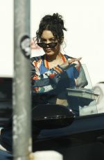 VANESSA HUDGENS Out for Lunch in Los Feliz 01/10/2019