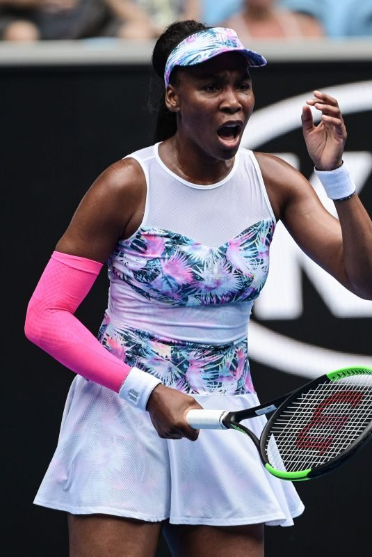 VENUS WILLIAMS at 2019 Australian Open at Melbourne Park 01/15/2019