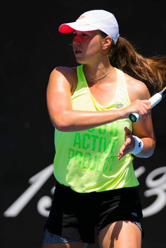 VERA LAPKO at 2019 Australian Open Practice Session at Melbourne Park 01/11/2019