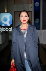 VICKY PATTISON Arrives at Global Radio in London 01/30/2019