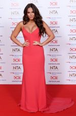 VICKY PATTISON at 2019 National Television Awards in London 01/22/2019