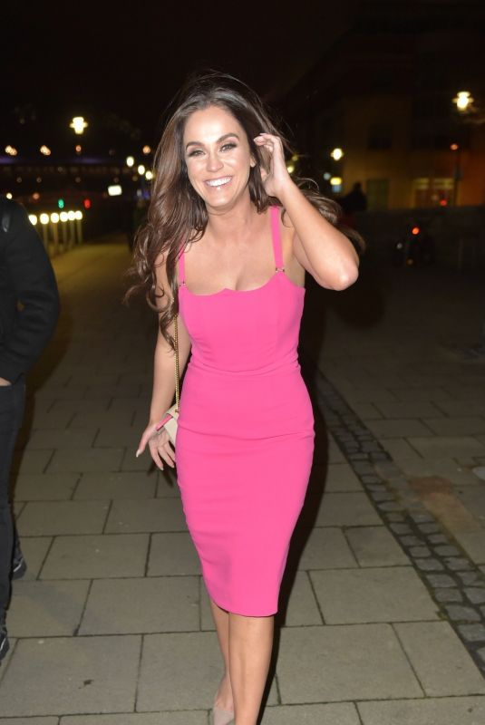 VICKY PATTISON at Quay Side Bar in Newcastle 12/31/2018