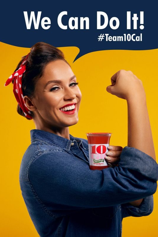 VICKY PATTISON for Hartley's Team 10 Cal, January 2018
