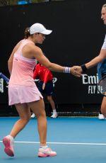 VICTORIA AZARENKA and ASHLEIGH BARTY at 2019 Australian Open at Melbourne Park 01/17/2019