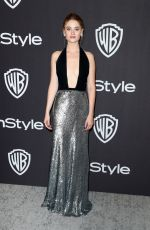 VIRGINIA GARDNER at Instyle and Warner Bros Golden Globe Awards Afterparty in Beverly Hills 01/06/2019