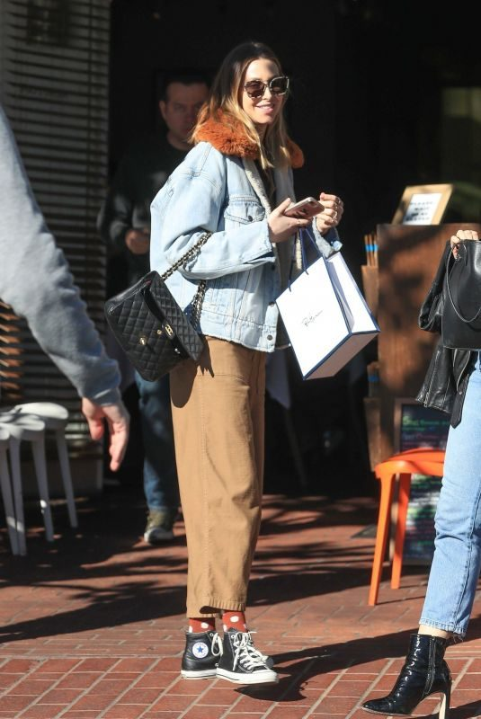 WHITEY PORT Shopping at Fred Segal in Los Angeles 01/03/2019