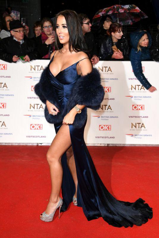 YAZMIN OUKHELLOU at 2019 National Television Awards in London 01/22/2019