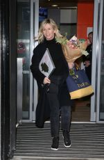 ZOE BALL Leaves BBC Radio 2 Studios in London 01/14/2019