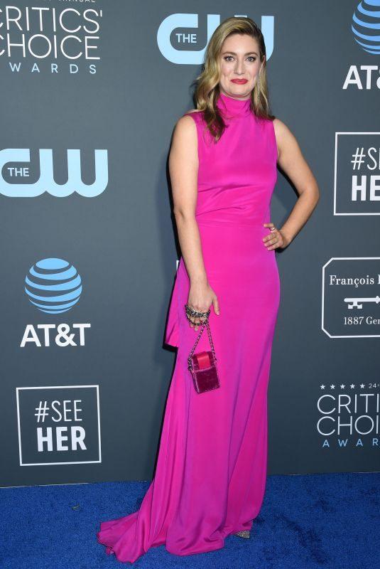 ZOE PERRY at 2019 Critics' Choice Awards in Santa Monica 01/13/2019