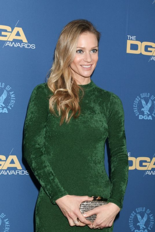 A.J. COOK at Directors Guild of America Awards in Los Angeles 02/02/2019