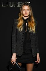 ABBEY LEE KERSHAW at Saint Laurent Show at Paris Fashion Week 02/26/2019