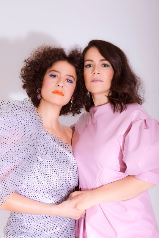 ABBI JACOBSON and ILANA GLAZER for WWD, January 2019