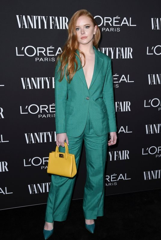ABIGAIL F. COWEN at Vanity Fair & L'Oreal Paris Celebrate New Hollywood in Los Angeles 02/19/2019