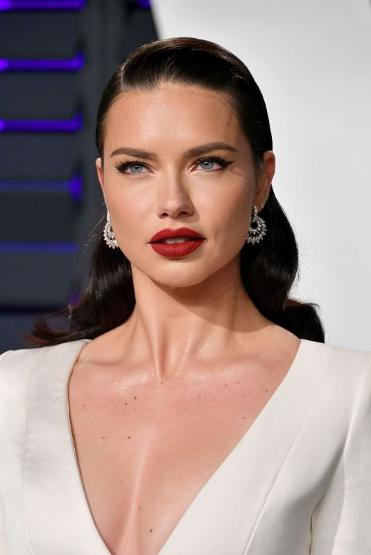 ADRIANA LIMA at Vanity Fair Oscar Party in Beverly Hills 02/24/2019