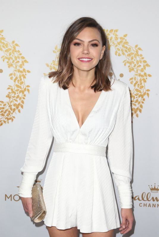 AIMEE TEEGARDEN at 2019 Hallmark Channel Winter TCA Press Tour 02/09/2019