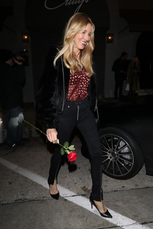 ALANA STEWART at Craig's Restaurant in West Hollywood 02/14/2019
