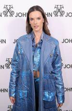 ALESSANDRA AMABROSIO at John John Runway Show in New York 02/12/2019