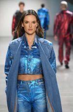 ALESSANDRA AMBROSIO at John John Runway Show at New York Fashion Week 02/12/2019