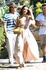 ALESSANDRA AMBROSIO Out and About in Florianopolis 02/02/2019