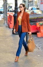 ALESSANDRA AMBROSIO Out and About in New York 02/05/2019