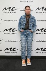ALESSIA CARA at Music Choice in New York 02/14/2019
