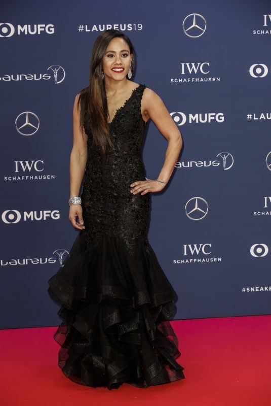 ALEX SCOTT at 2019 Laureus World Sports Awards in Monaco 02/18/2019