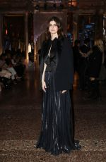 ALEXANDRA DADDARIO at Genny Show at Milan Fashion Week 02/21/2019