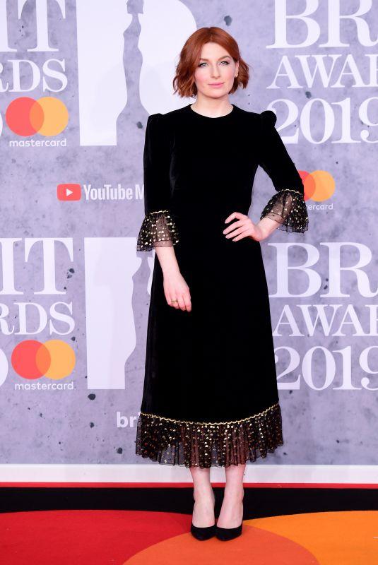 ALICE LEVINE at Brit Awards 2019 in London 02/20/2019