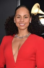 ALICIA KEYS at 2019 Grammy Awards in Los Angeles 02/10/2019