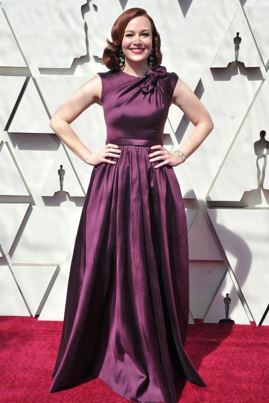 ALICIA MALONE at Oscars 2019 in Los Angeles 02/24/2019