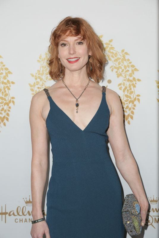 ALICIA WITT at 2019 Hallmark Channel Winter TCA Press Tour 02/09/2019