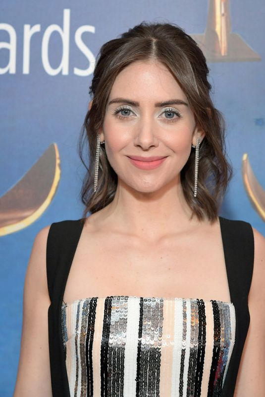 ALISON BRIE at Writers Guild Awards in Los Angles 02/17/2019