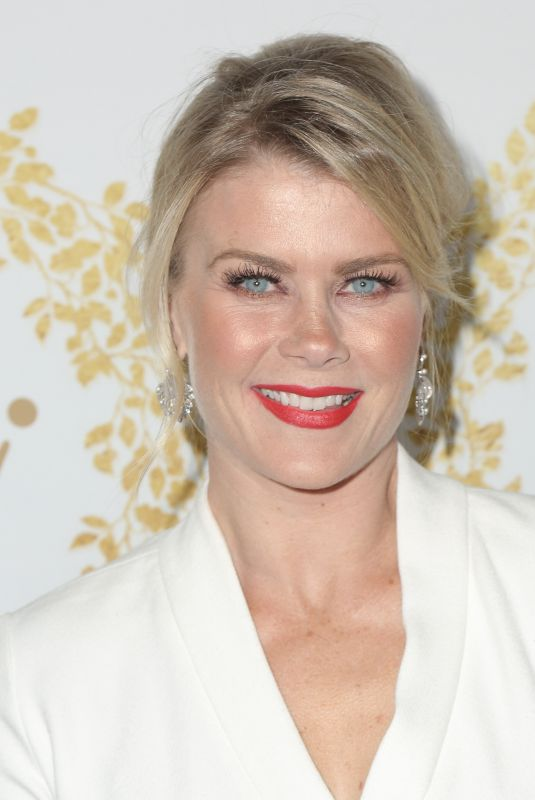 ALISON SWEENEY at 2019 Hallmark Channel Winter TCA Press Tour 02/09/2019