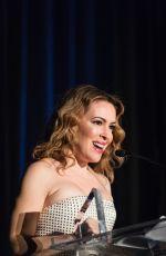ALYSSA MILANO at Vital Voices Bay Area Gala in San Francisco 2/6/19