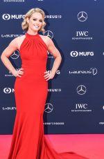 AMANDA DAVIES at 2019 Laureus World Sports Awards in Monaco 02/18/2019