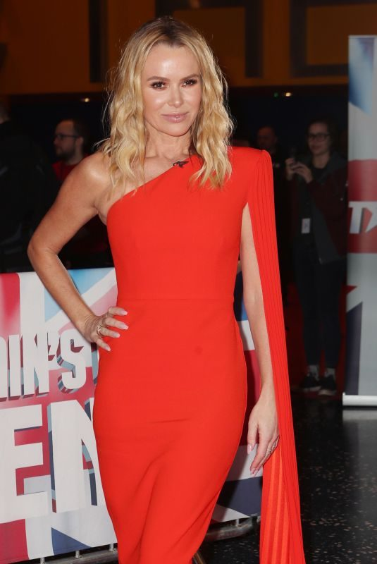 AMANDA HOLDEN at Britain's Got Talent Auditions in Manchester 02/06/2019