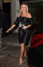 AMANDA HOLDEN Leaves Quaglinos Restaurant in London 02/13/2019