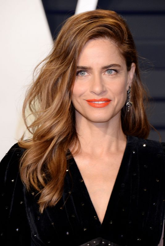 AMANDA PEET at Vanity Fair Oscar Party in Beverly Hills 02/24/2019