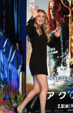 AMBER HEARD at Aquaman Premiere in Tokyo 02/04/2019