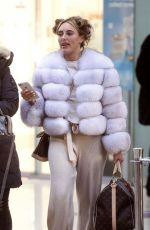 AMBER HEARD Out and About in Newcastle 01/30/2019