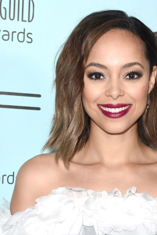 AMBER STEVENS at Make-up Artists & Hair Stylists Guild Awards in Los Angeles 02/16/2019