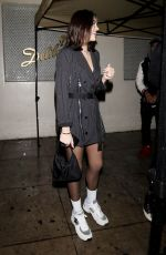 AMELIA HAMLIN at Delilah in West Hollywood 02/01/2019
